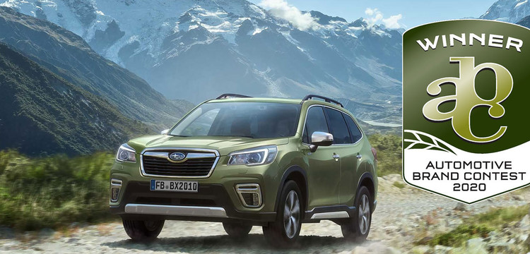 Subaru Forester e-BOXER siegt beim Automotive Brand Contest